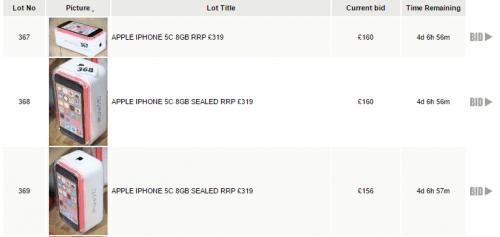 lichidari stoc iphone