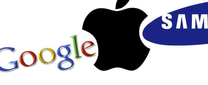 Apple Gooogle Samsung
