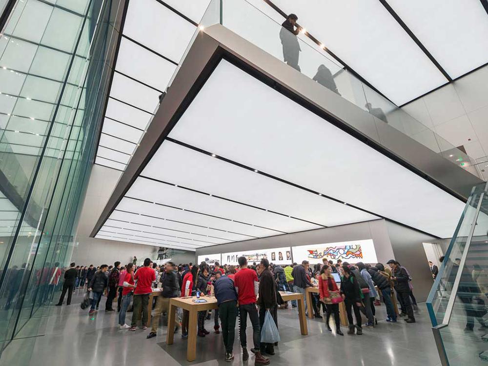 Apple Store Hangzhou etaj suspendat 1