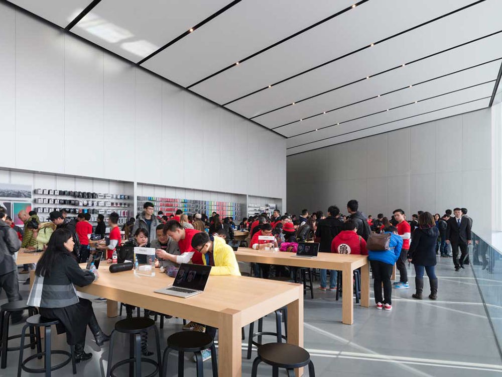 Apple Store Hangzhou etaj suspendat 3