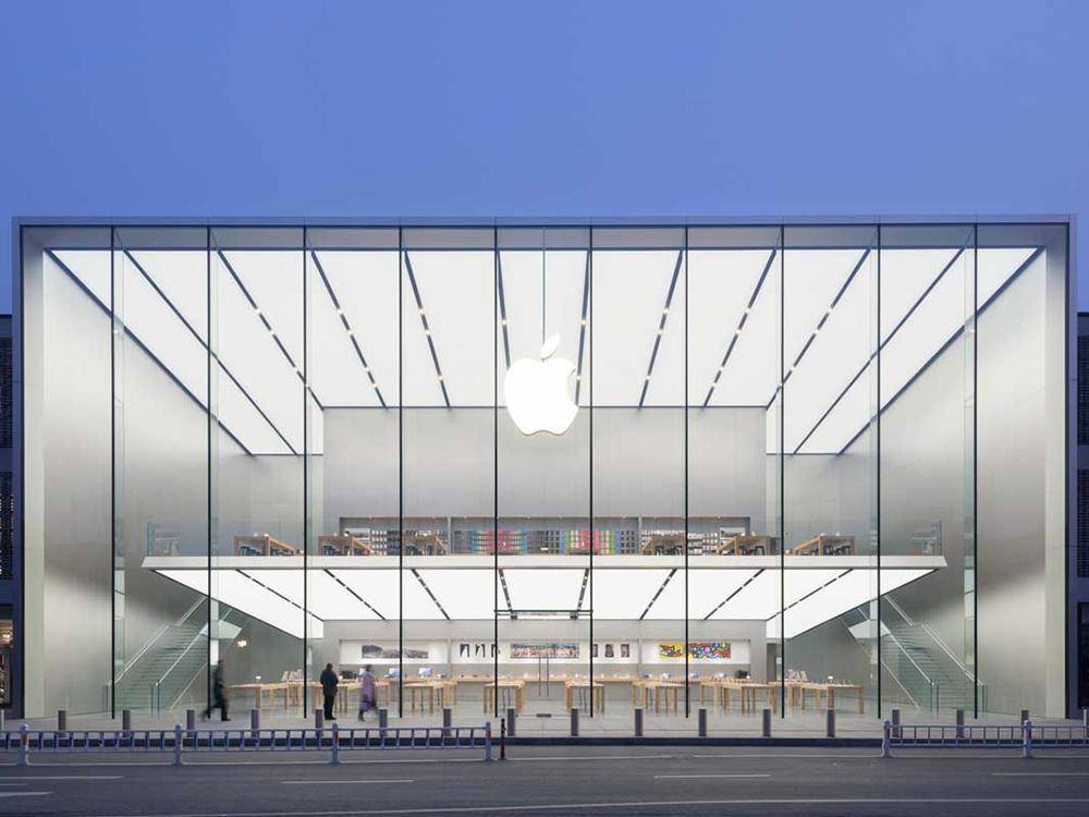 Apple Store Hangzhou etaj suspendat