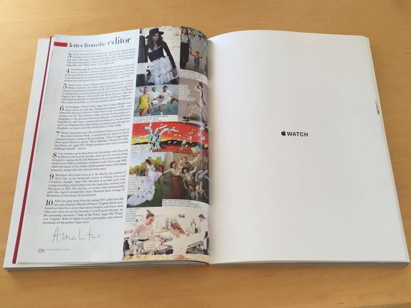 Apple Watch revista Vogue
