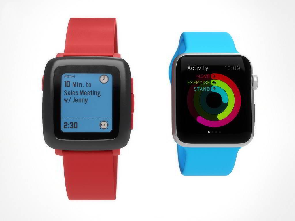 Apple Watch vs Pebble Watch 11