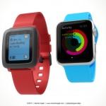 Apple Watch vs Pebble Watch