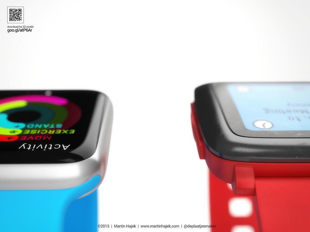 Apple Watch vs Pebble Watch 9