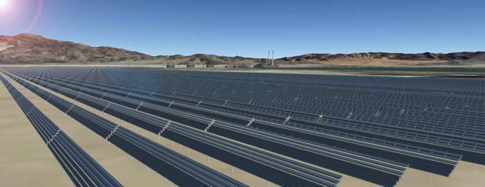 Apple ferma solara