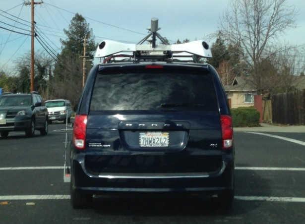Apple masina condus singura street view 1