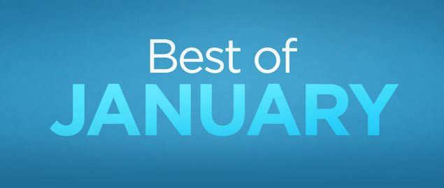 Cele mai bune aplicatii ale lunii ianuarie