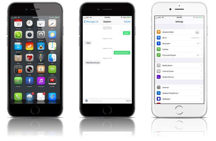 Class tema iOS 8