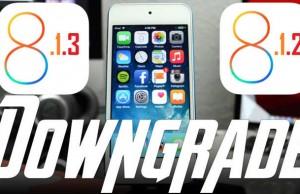 Downgrade iOS 8.1.3 iOS 8.1.2