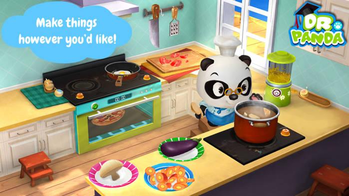 Dr. Panda's Restaurant 2 aplicatia gratuita a saptamanii