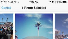 Dropbox iOS 8 salvare fisiere