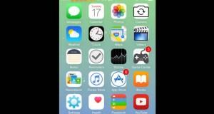 Duara tema iOS 8