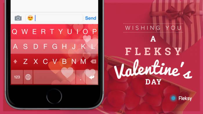 Fleksy Valentine's Day