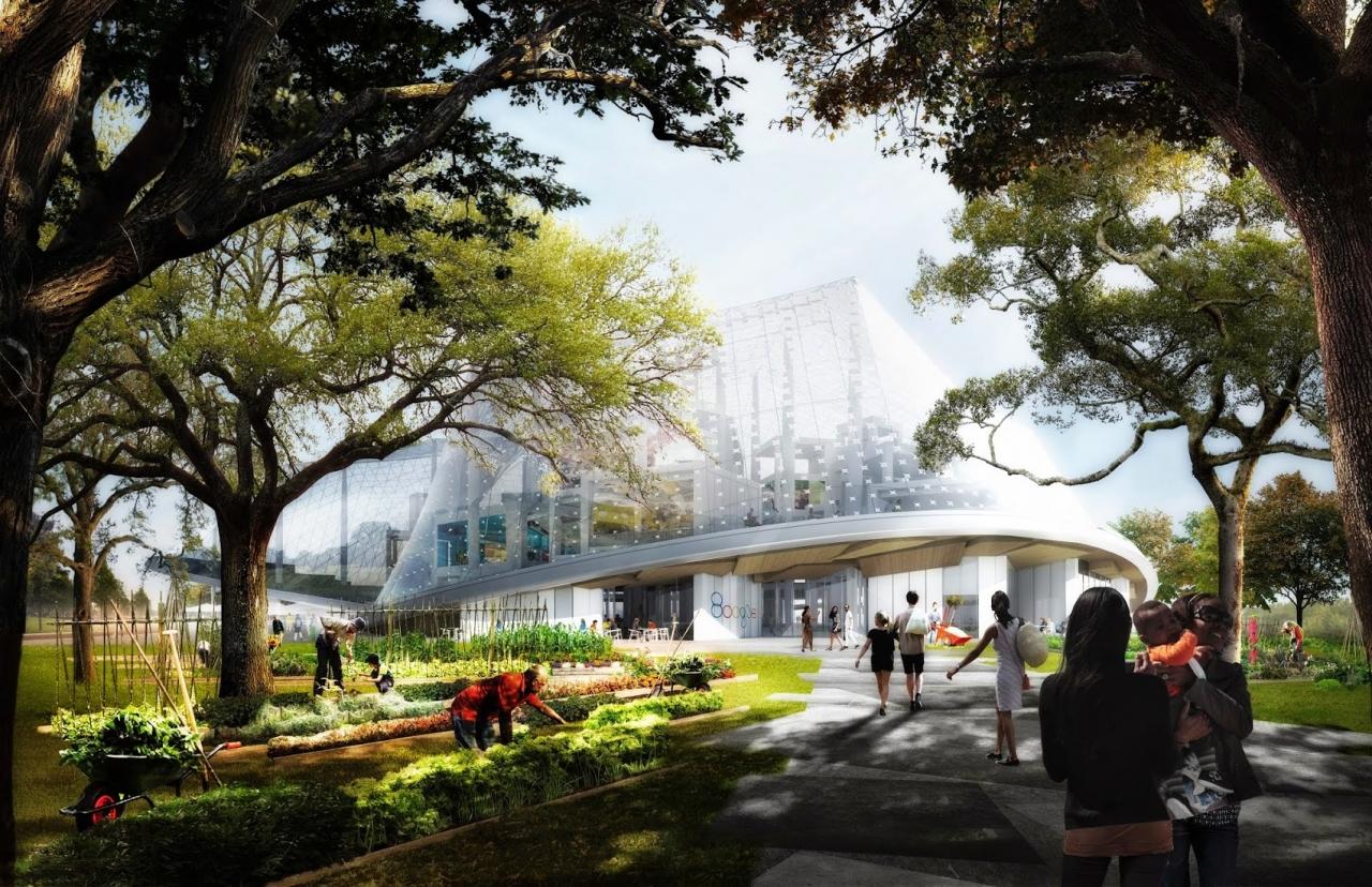 Google Campus modern