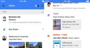 Google Inbox iPad