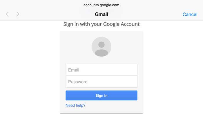Google autentificare 2 pasi iOS 8.3