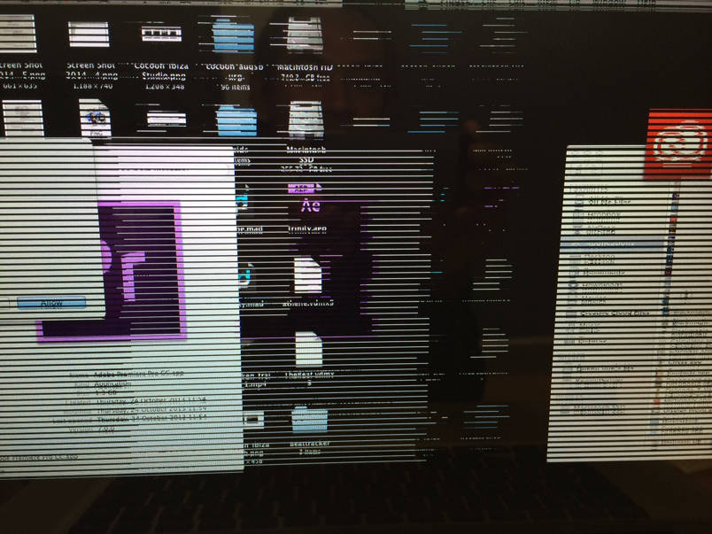 MacBook Pro probleme ecran