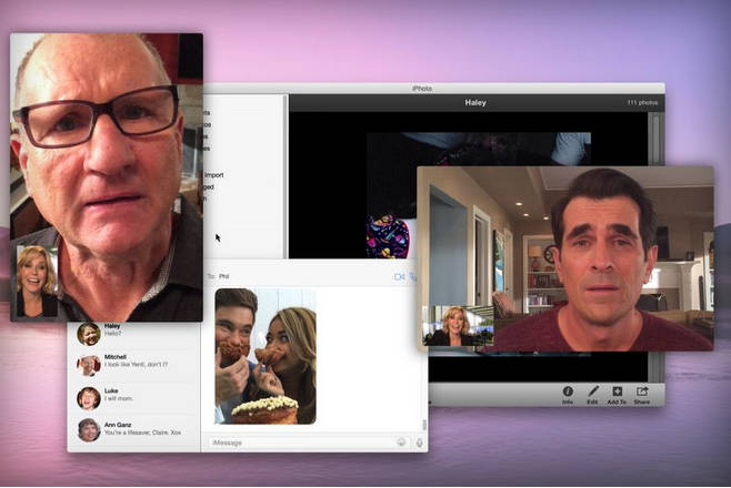 Modern Family iPhone