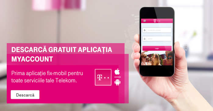 MyAccount aplicatie fix si mobil