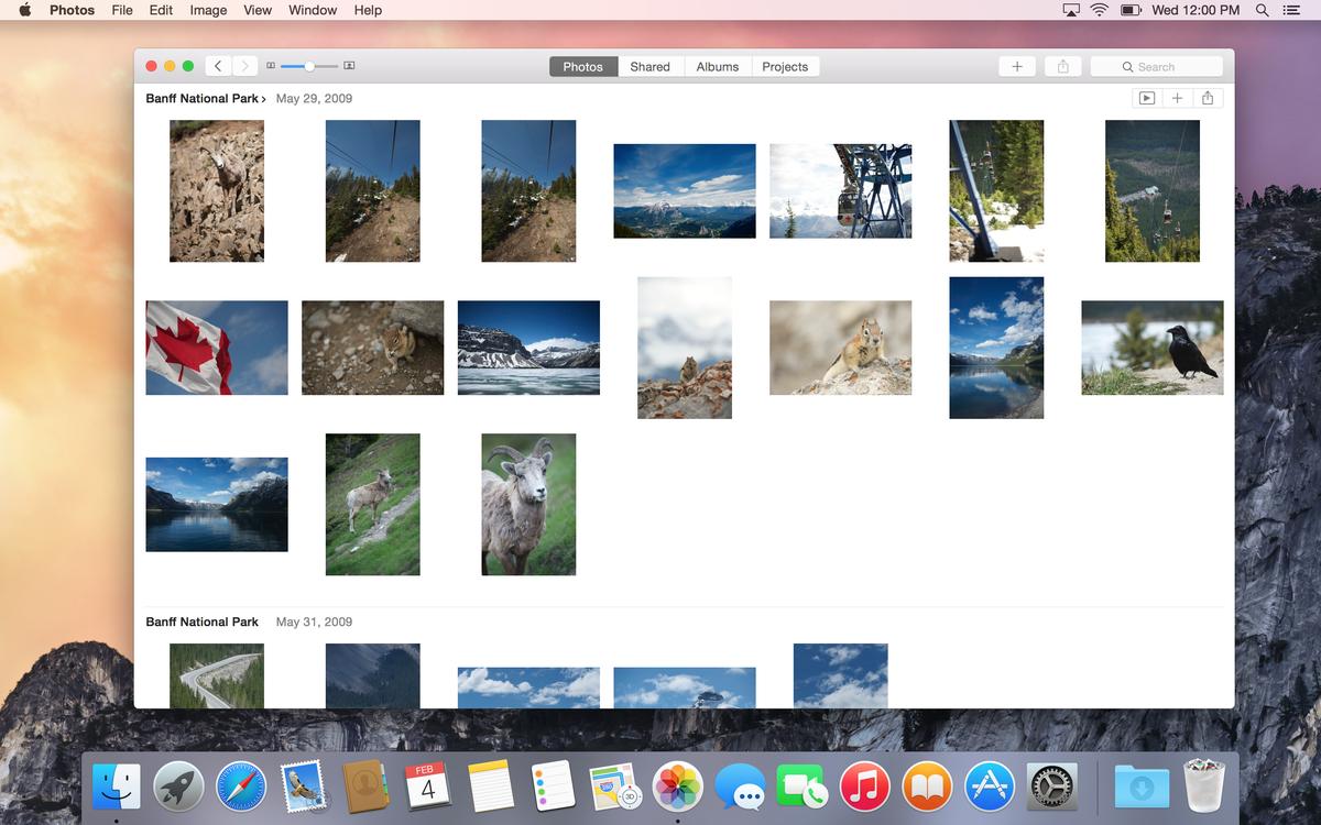Photos OS X Yosemite 10.10.3