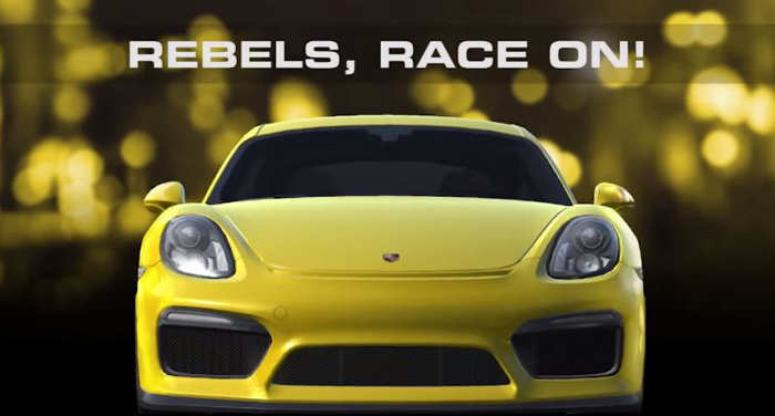 Real Racing 3 Porsche Cayman GT4