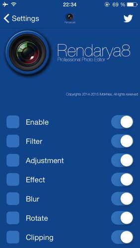 Rendarya8 (iOS 8)