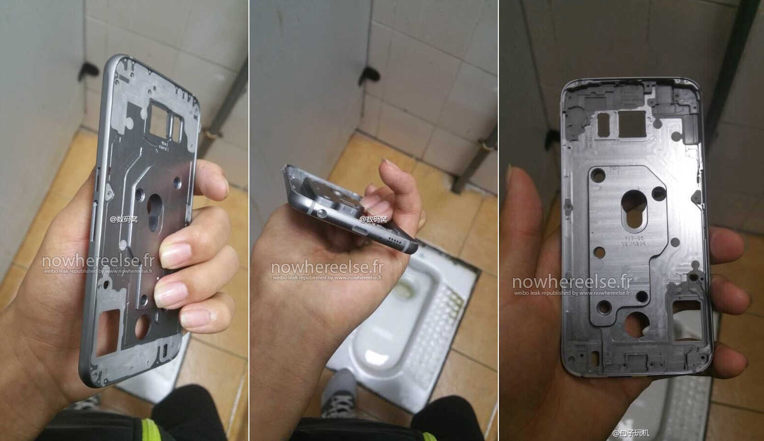 Samsung Galaxy S6 carcasa iPhone 6 1