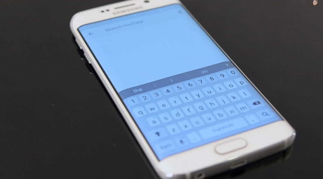 Samsung Galaxy S6 design frontal feat