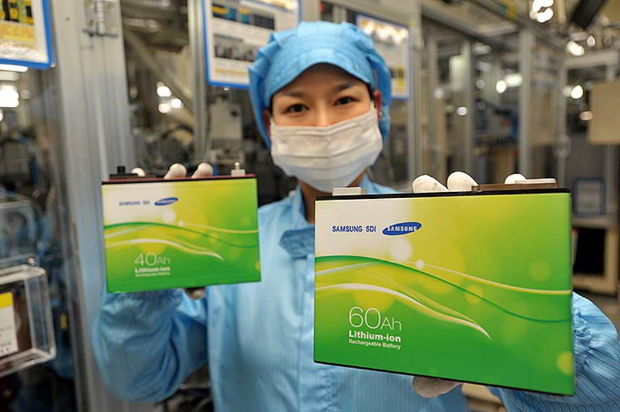 Samsung baterii masini