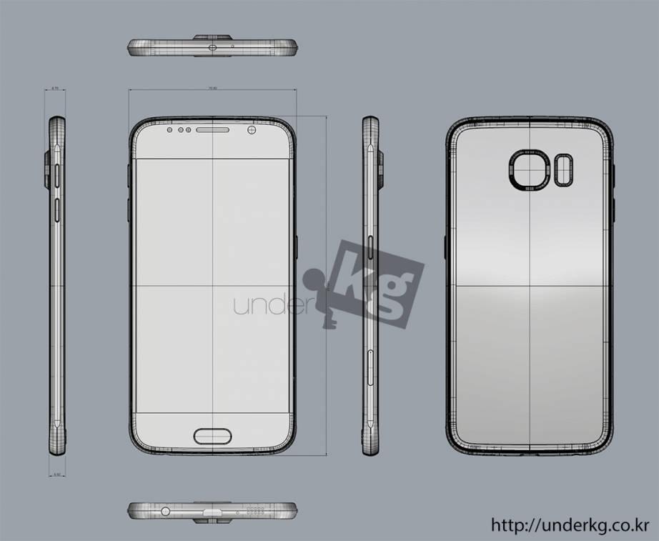Schita Samsung Galaxy S6