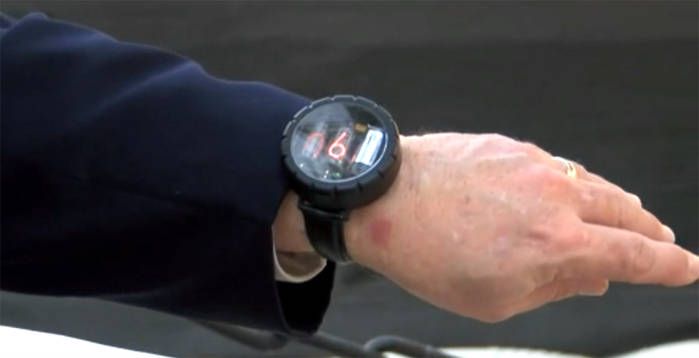 Steve Wozniak smartwatch