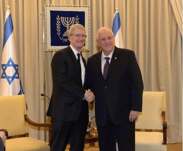 Tim Cook presedinte Israel