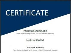 Vodafone certificare retea date voce