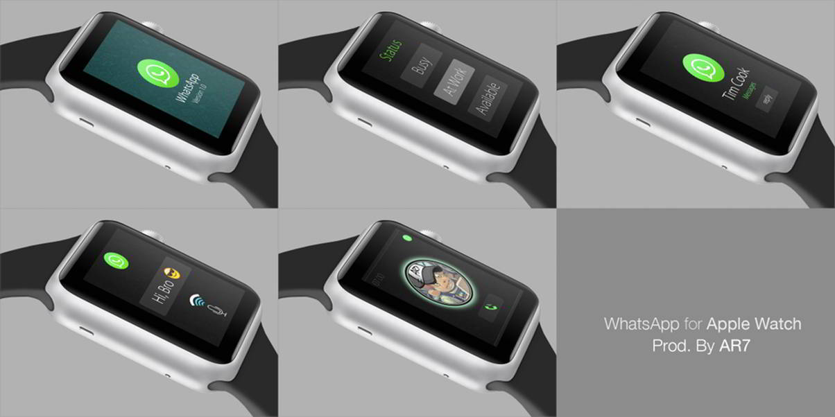 WhatsApp Messenger Apple Watch