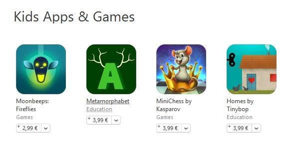 aplicatii jocuri copiii