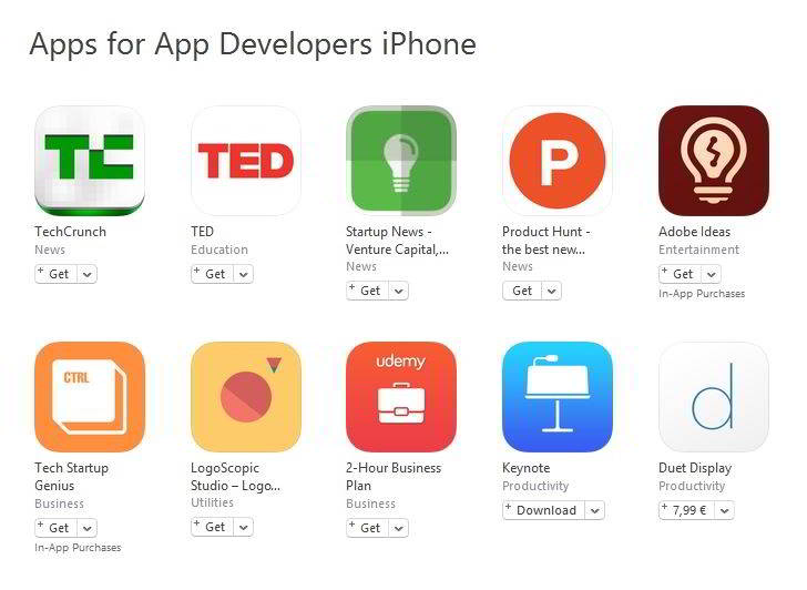 aplicatii pentru dezvoltatori
