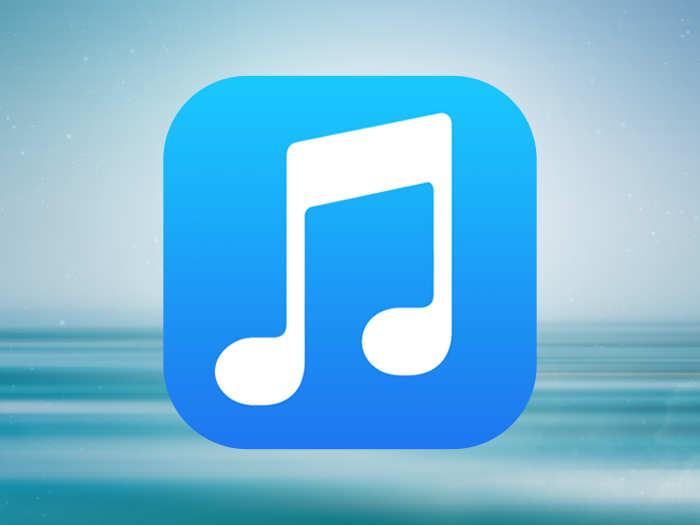 iOS 8 iconita aplicatie Muzica