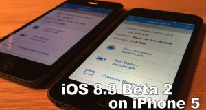 iOS 8.1.3 vs iOS 8.3 beta 2 iPhone 5
