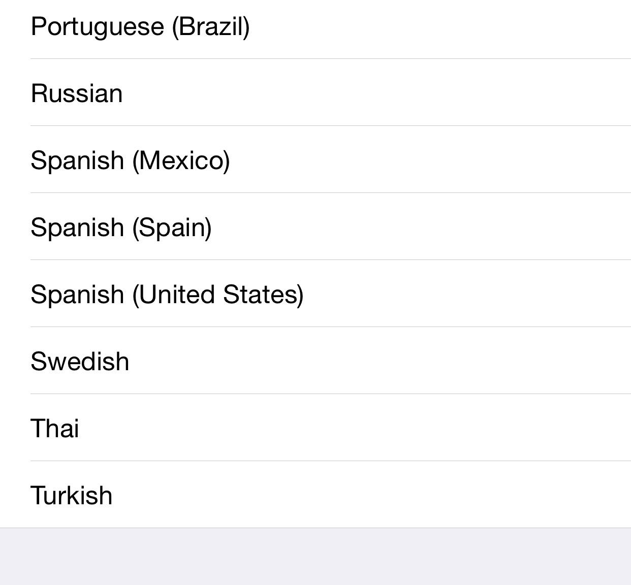 iOS 8.3 Siri limbi noi
