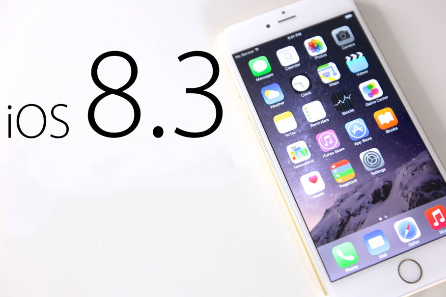 iOS 8.3 testare publica