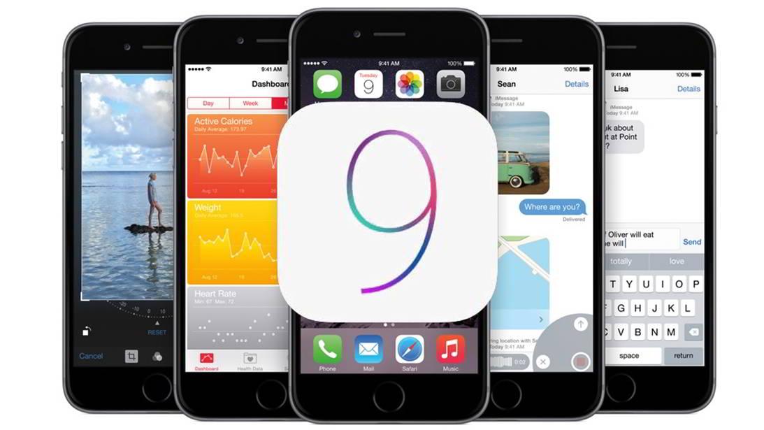 iOS 9 testat public