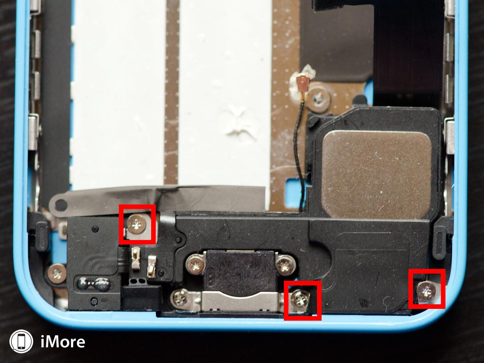 iPhone 5C inlocuire difuzor 4