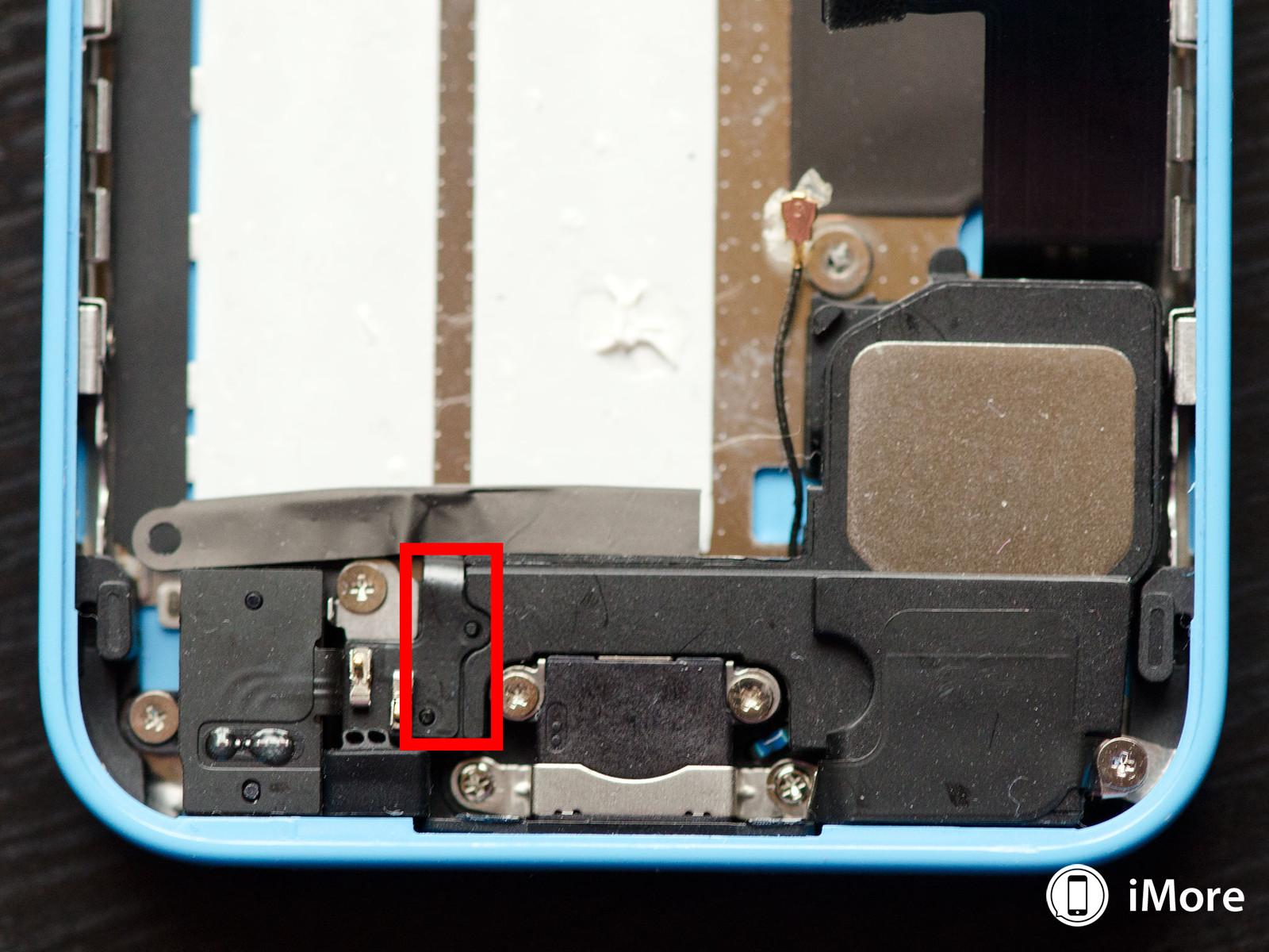 iPhone 5C inlocuire difuzor 5
