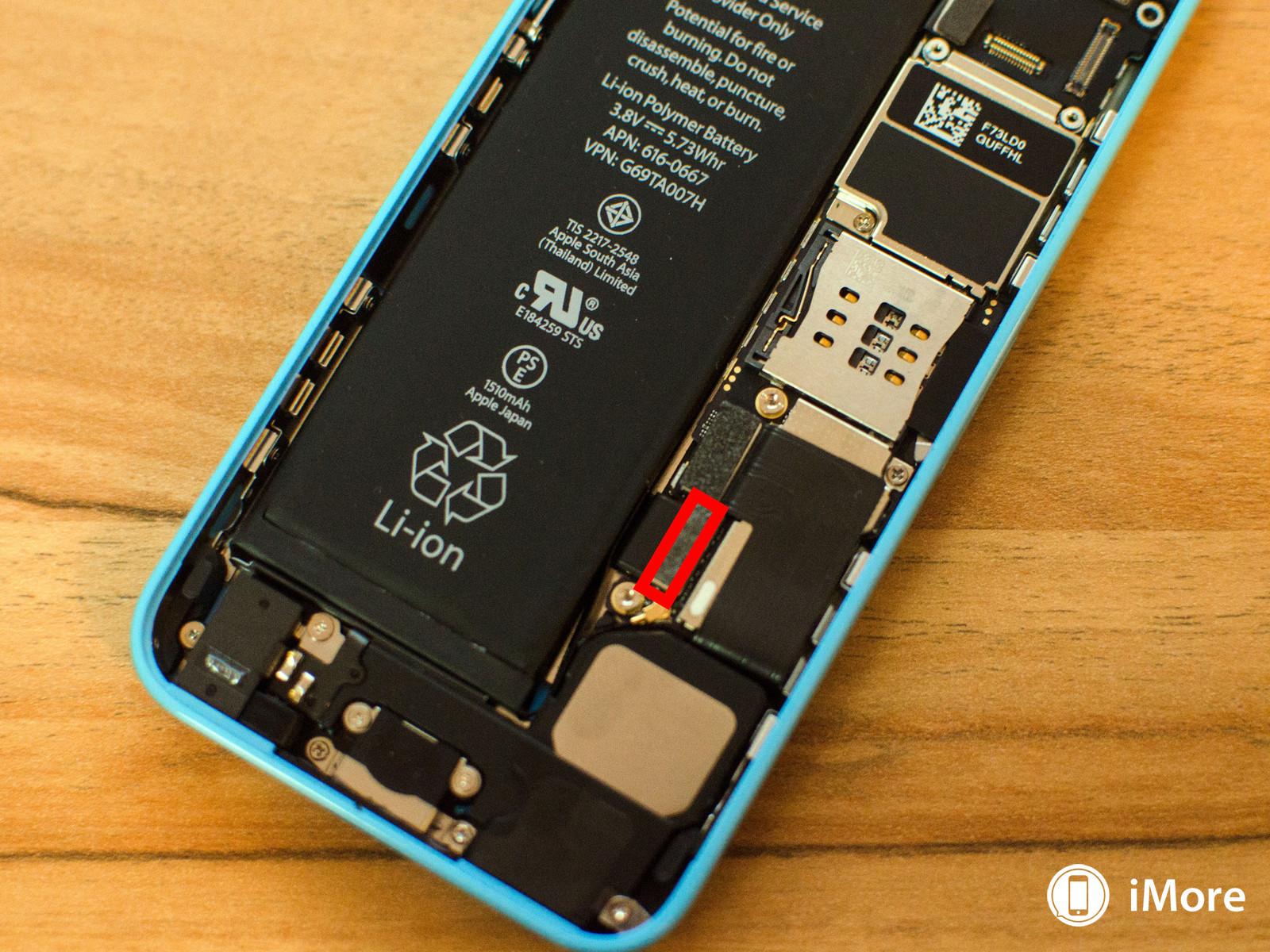 iPhone 5C inlocuire difuzor 6