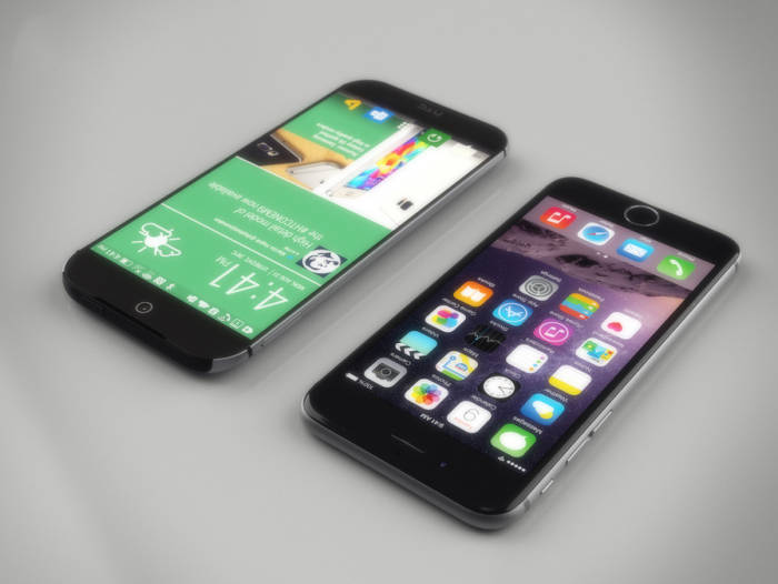 iPhone 6 HTC One M9 concept
