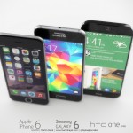 iPhone 6 Samsung Galaxy S6 HTC One M9 concept 1