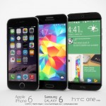 iPhone 6 Samsung Galaxy S6 HTC One M9 concept