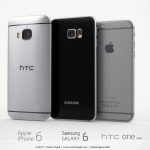 iPhone 6 Samsung Galaxy S6 HTC One M9 concept 3