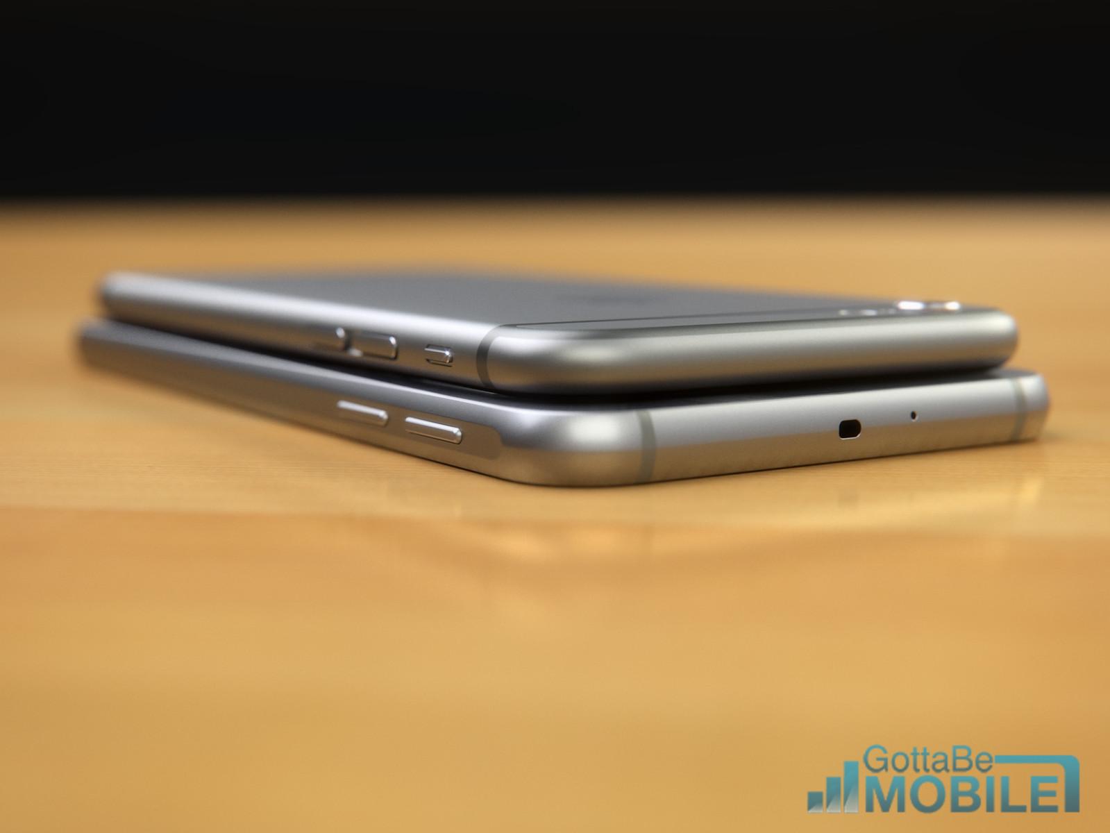 iPhone 6 vs Samsung Galaxy S6 4